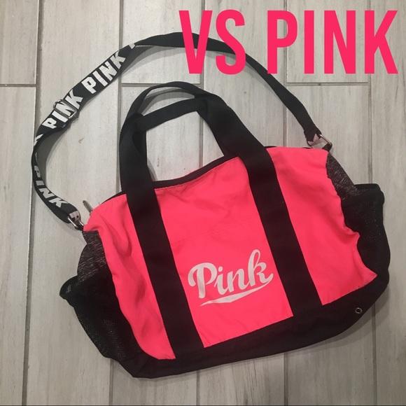 PINK Victoria s Secret Bags   Pink Victorias Secret Gym Bag   Poshmark 96d7f41d30